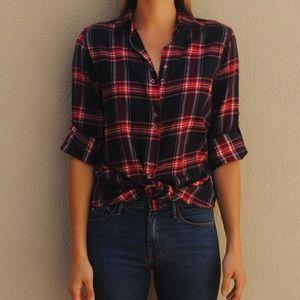 Top Shop flannel shirt